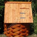 Домик для колодца - Ежик, цвет Орегон